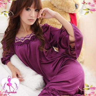 愛的蔓延 歐式優雅!浪漫七分袖性感睡衣 情趣睡衣 可愛睡衣 08020099