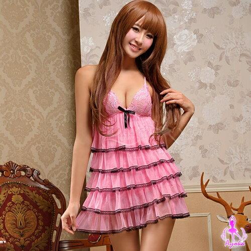 愛的蔓延:愛的蔓延柔情蜜意!甜美二件式睡衣情趣睡衣性感睡衣13020100