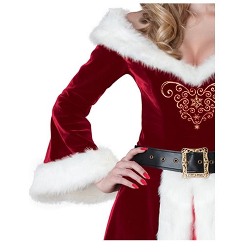 Women's Mrs. St. Nick Costume 1