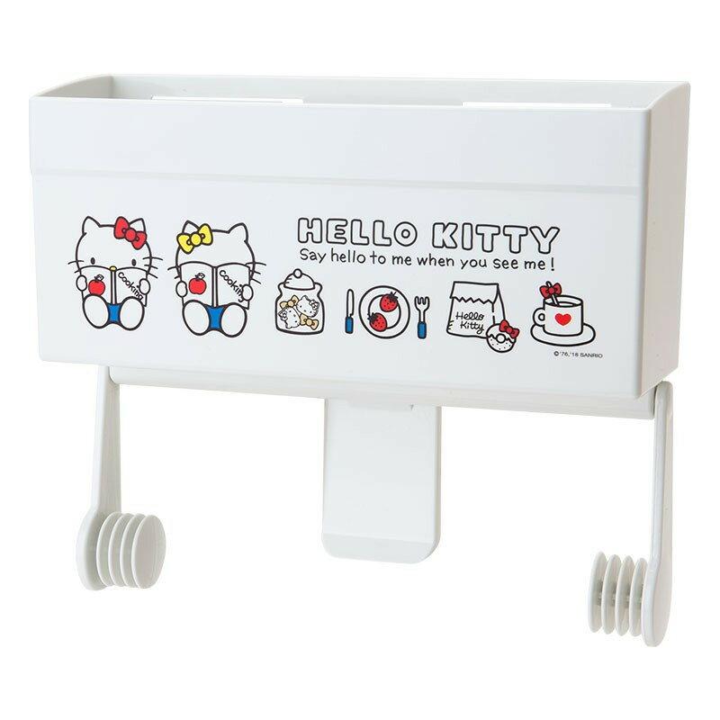 X射線【C607374】HelloKitty 廚房用紙巾架,紙巾盒/瀝水架/紙巾機/餐巾環/廚房收納/收納架