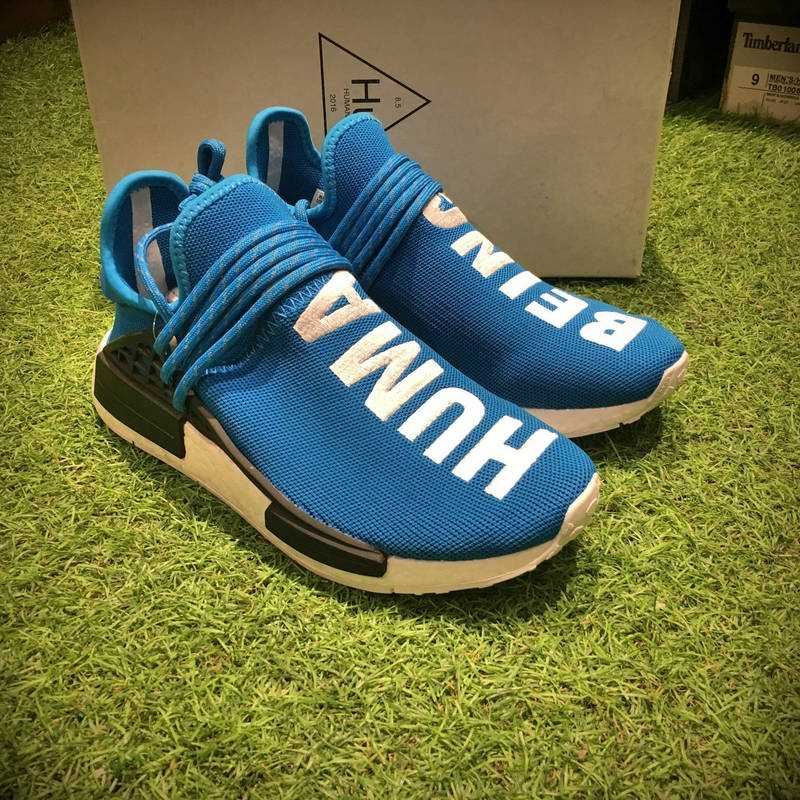 菲董聯名Pharrell Williams x ADIDAS Originals NMD Human Race慢跑鞋  情侶款