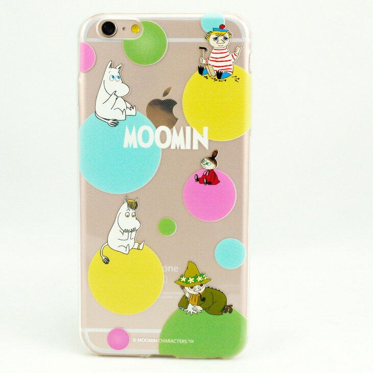 Moomin嚕嚕米正版授權 - TPU手機保護殼:【 彩虹泡泡 】《 iPhone/Samsung/HTC/Sony/小米/OPPO 》