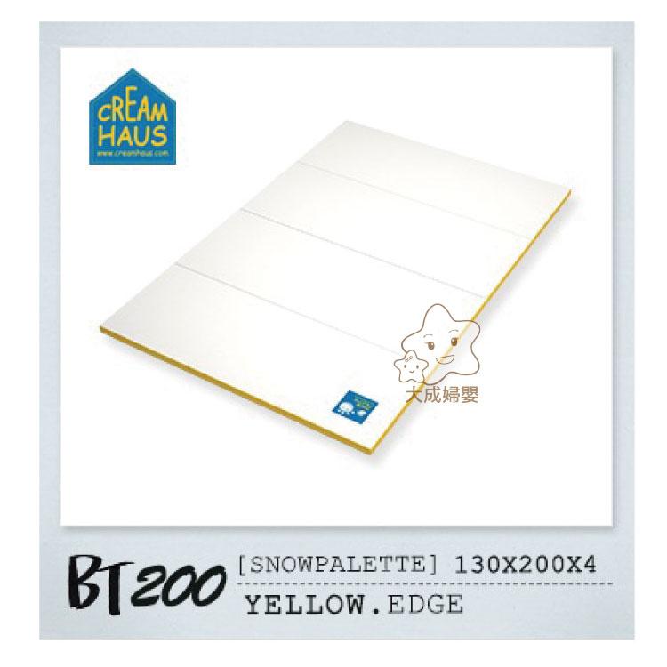 【大成婦嬰】RETRO 冰雪(BT-200)地墊系列 - 黃邊、藍邊 130x200X4cm 1