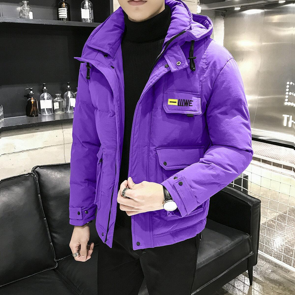 冬季外套男棉衣工裝外套ins潮流短款棉襖2021寬鬆韓版加厚棉服男