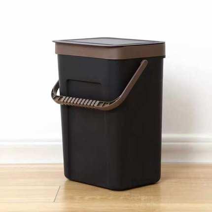 壁掛洗衣籃 壁掛式髒衣籃子塑膠衣服收納筐衛生間浴室防水帶蓋換洗衣桶髒衣簍『MY4071』