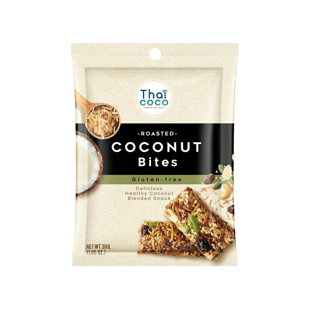 綜合椰纖脆餅 30g 泰國 無麩質 膳食纖維 零食 健身棒 熱銷伴手禮