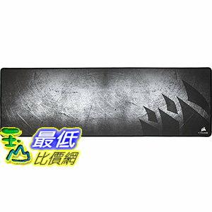 [106 美國直購] Corsair Gaming MM300 Anti-Fray Cloth Gaming Mouse Pad, Extended 電競專業加長版滑鼠墊