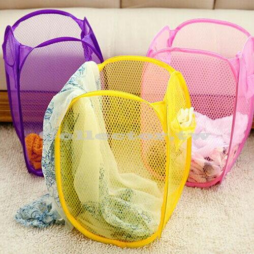 【超取399免運】糖果色折疊洗衣籃 髒衣籃 玩具箱收納 置物籃