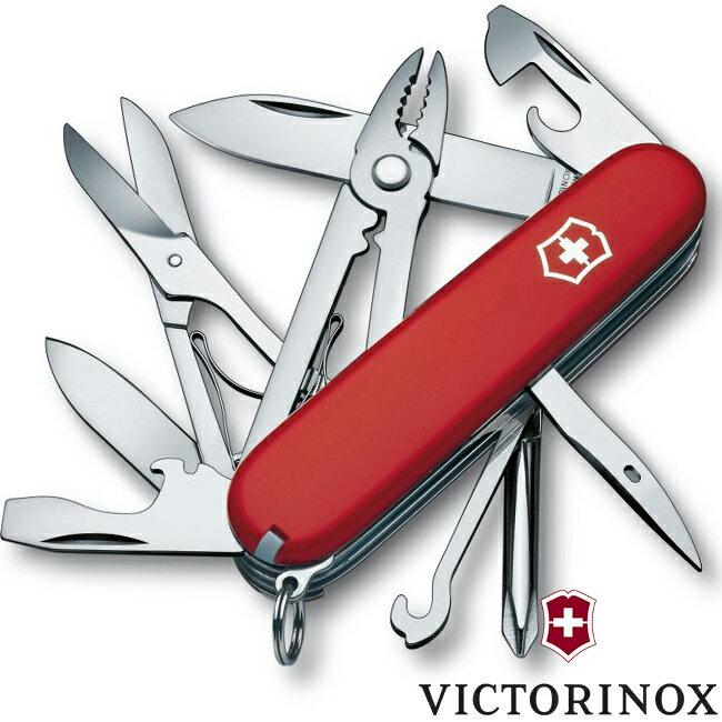 【【蘋果戶外】】victorinox 1.4723【經典紅/17功能/91mm】DELUXE TINKER 十七功能瑞士刀工具組 瑞士維氏不鏽鋼軍刀/戶外救急工具刀