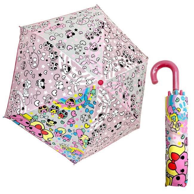 【日本正版】奇怪的蘑菇 輕量型 晴雨傘 附傘套 摺疊傘 雨傘 折傘 Rannyoko 磨菇 Ranzuki - 051825
