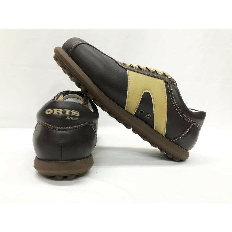 [大自在體育用品]  大降價 ORIS 皮鞋 休閒皮鞋 真皮皮鞋 尺寸40~45 男 黑 CA15053 03