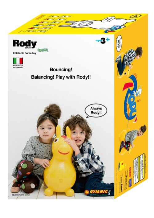 Rody - 跳跳馬騎乘玩具 橘 Jammy Global/台灣永曄原廠正品 (加購原廠配件享特價優惠!) 5