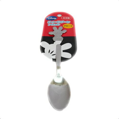 【真愛日本】15090400012 造型不鏽鋼湯匙小-MK手 迪士尼 米老鼠米奇 米妮 小湯匙 甜點湯匙 食器 餐具
