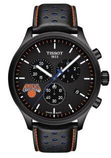 TISSOT天梭表T1166173605105NBA紐約尼克隊特別款計時腕錶45mm