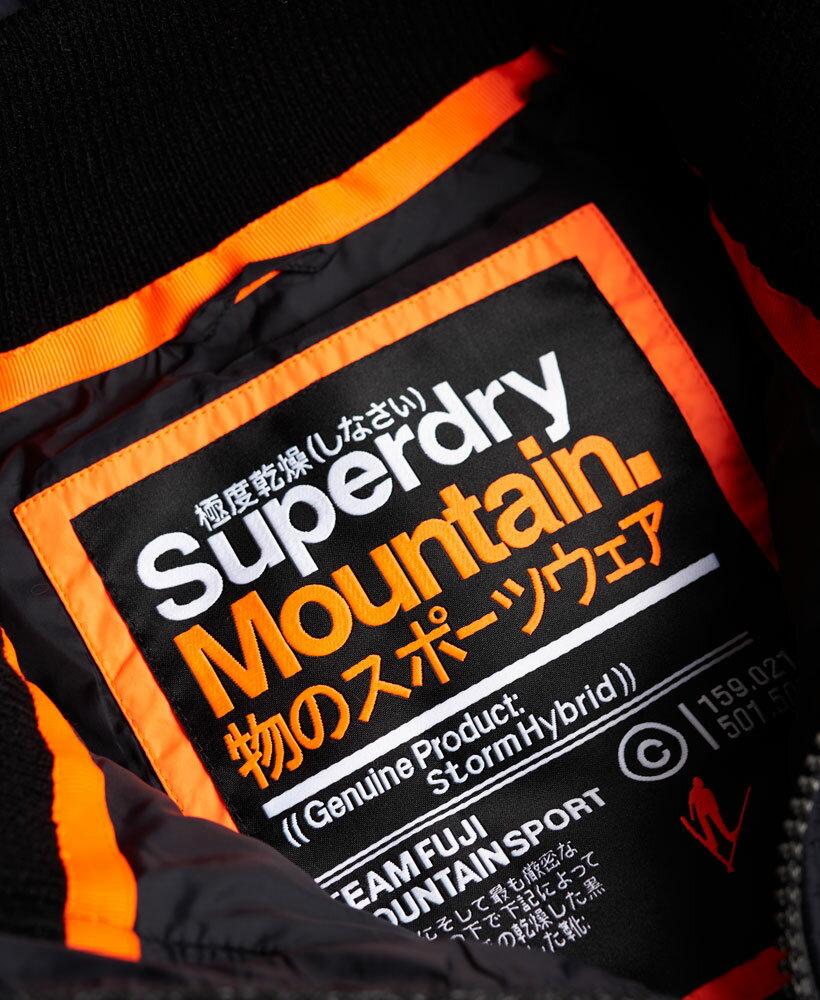 [男款]英國名品 正品代購 極度乾燥 Superdry STORM 連帽男士風衣戶外休閒外套帽T 砂礫黑 3