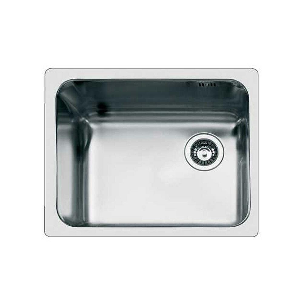 【義大利Foster】不銹鋼平接單槽水槽-無安裝服務 (1116-06) 1