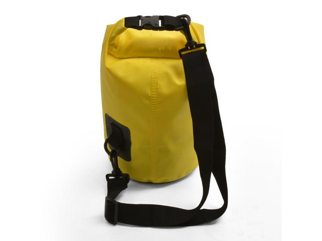 5L Waterproof Floating Water Resistant Dry Bag for Swimming Boating Camping Biking Yellow Nylon 3