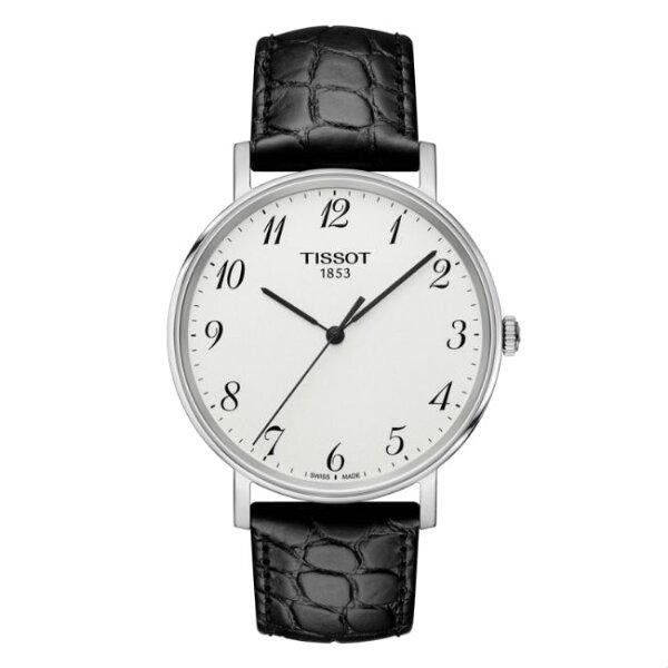 TISSOT天梭錶T1094101603200極簡約時尚高質感腕錶白面38mm