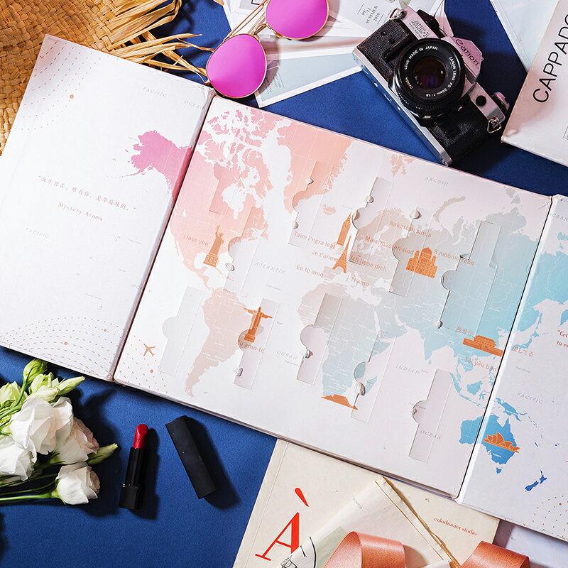 環球旅行香水日歷禮盒生日禮物女生男生實用