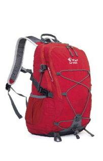 [陽光樂活=]LeVon戶外休閒透氣背包LS-5114-17-20L(紅)