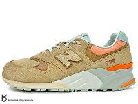 New Balance 美國慢跑鞋/跑步鞋推薦2016 最新 美國紐澤西鞋舖 世界限量500雙 PACKER SHOES x NEW BALANCE ML999CML CAMEL 駝色 麂皮 沙漠 ABZORB 避震科技 (ML999CML) !