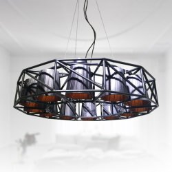 黑色旋風12燈造型吊燈(PO11001) / H&D