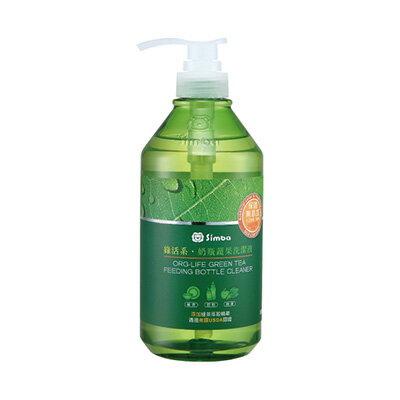 【悅兒樂婦幼用品?】Simba 小獅王 辛巴綠活系‧奶瓶蔬果洗潔液800ml