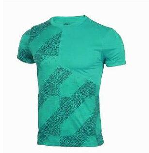 【ASICS亞瑟士】男短袖T恤LITE-SHOW反光運動短T151301-1187綠[陽光樂活]