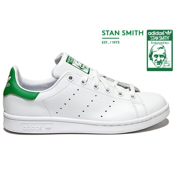 ★下殺$2680★【BEETLE PLUS】ADIDAS ORIGINALS STAN SMITH 白綠 愛迪達 復古 休閒鞋 余文樂 女鞋 M20605