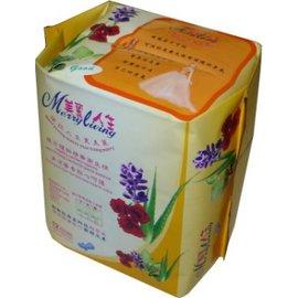 美麗人生複方植物精油衛生棉 夜用加強型 12片/包【DR233】◆德瑞健康家◆