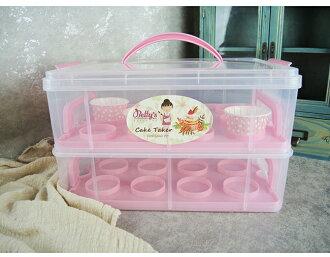 【Betty's焙蒂絲】2層組裝式手提蛋糕盒CT1263 《烘焙器具(材)》