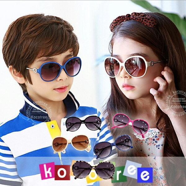 Lemonkid:Kocotree◆貴族質感圓鏤空造型兒童紫外線護目太陽眼鏡