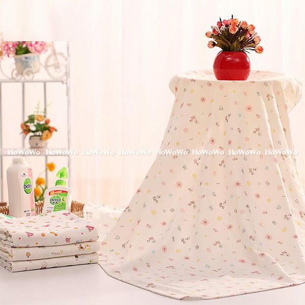 四層高密度紗布嬰兒浴巾