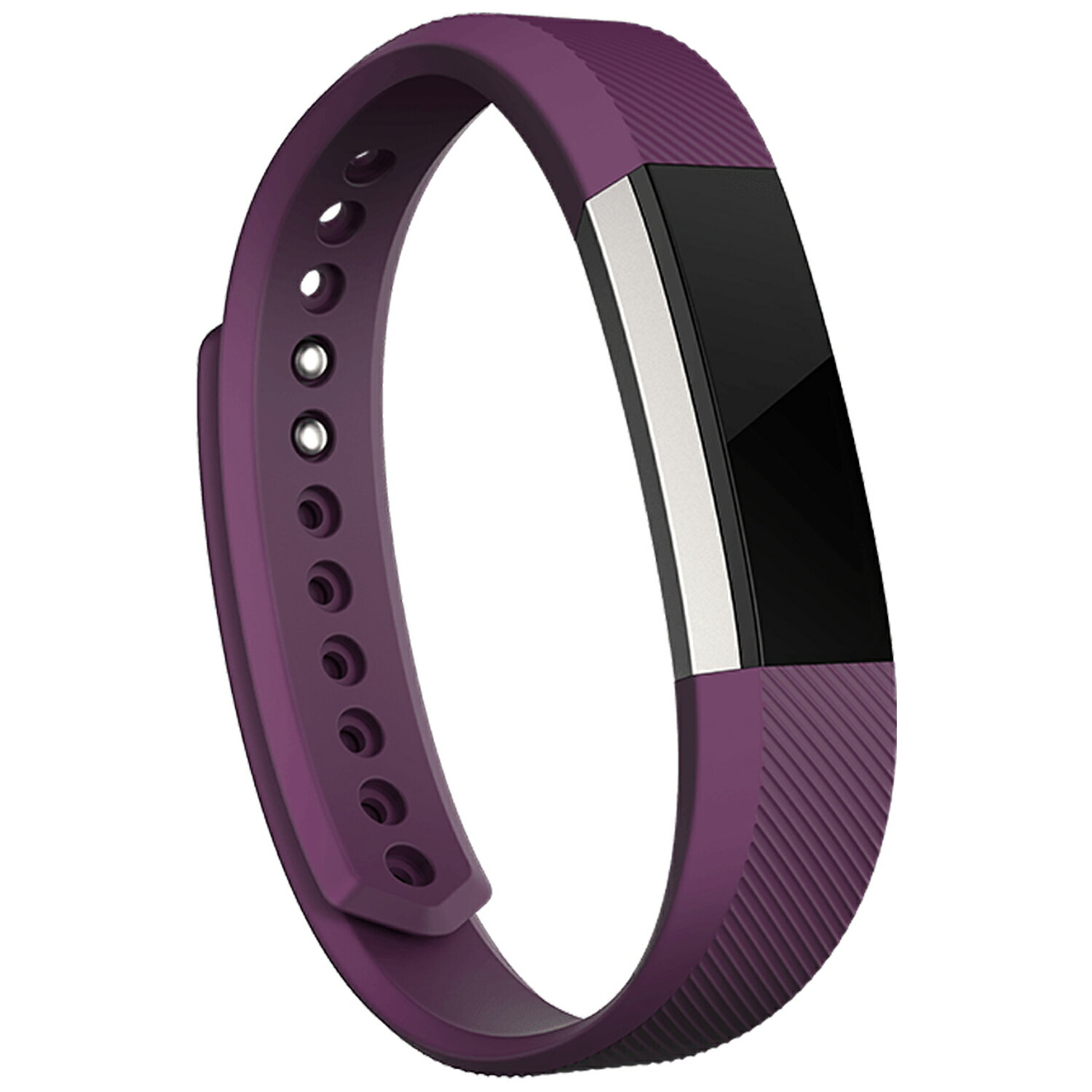Fitbit Alta Wireless Activity Fitness Tracker and Sleep Monitor Wristband - Plum - Large 1