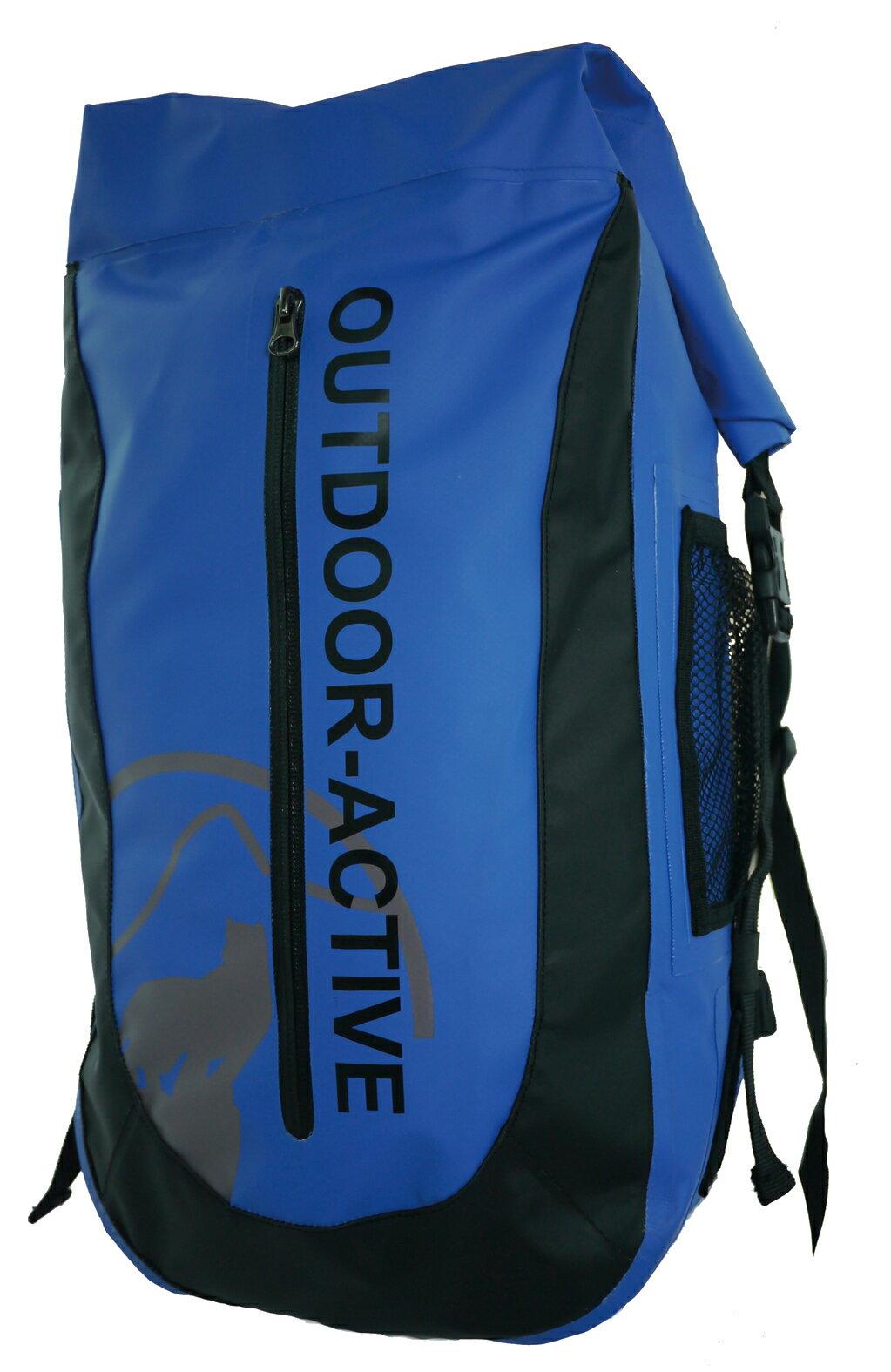 Outdoor Active | OA防水背包40L 隧道散熱-藍 | 秀山莊(OA-WP01-04)