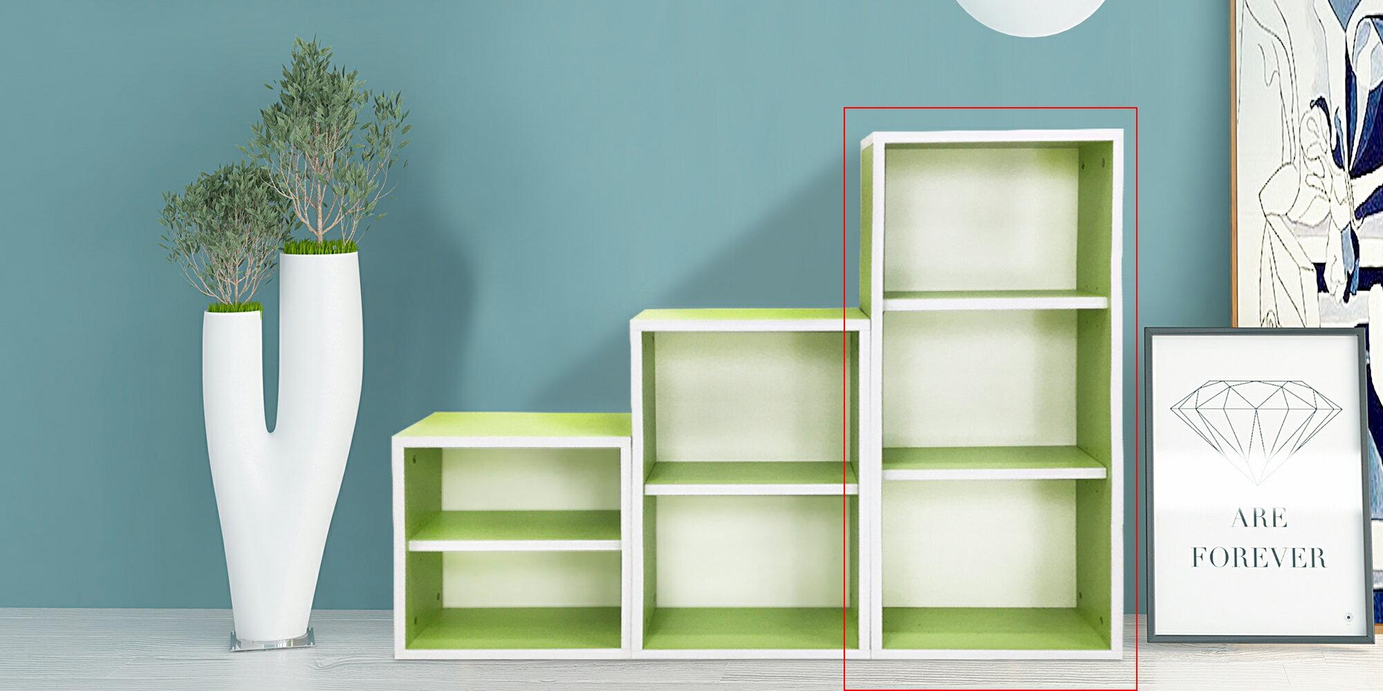書櫃 收納櫃|DIY馬卡龍繽紛書櫃|MIT台灣製造|木質傢俱|環保材質[易宥家居]