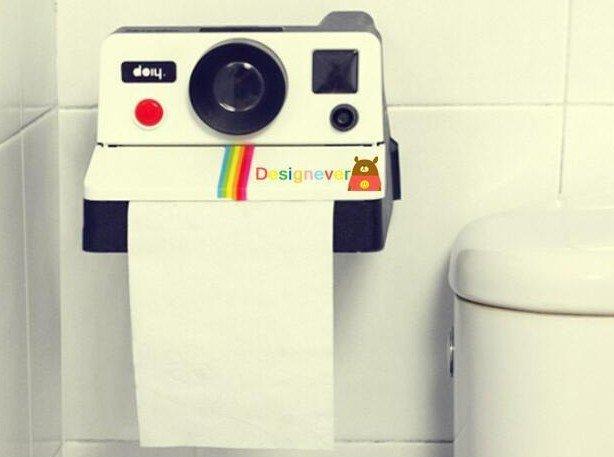 =優 = 復古可愛相機面紙筒 廁所卷筒衛生紙 家用紙巾盒 抽紙盒 拍立得面紙
