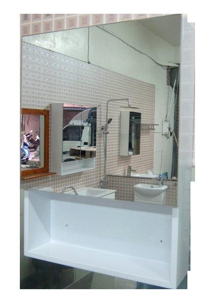 小型單門鏡櫃 寬45x高62x深11cm  鏡箱 浴室化妝鏡 衛浴必備收納小幫手緩衝門片304不鏽鋼絞鍊