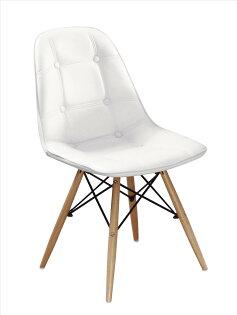 【石川家居】JF-488-15迪妮白皮餐椅(單只)(不含其他商品)台北到高雄搭配車趟免運