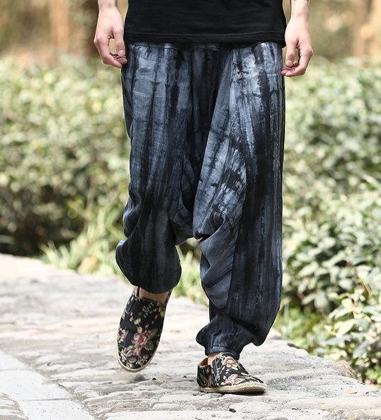 【JP.美日韓】 日本寬褲 寬鬆 普羅旺斯 落地 褲 喇叭褲 低檔寬褲 褲子