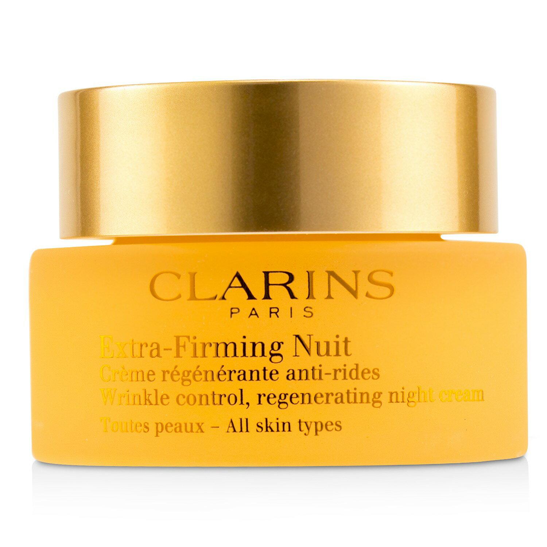 克蘭詩 Clarins - 抗皺晚霜-所有膚質適用Extra-Firming Nuit Wrinkle Control, Regenerating Night Cream - All Skin Typ