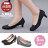 格子舖*【AW706】MIT台灣製 OL上班族必備 時尚經典格紋布面 5CM細中跟鞋 圓頭包鞋 2色 0