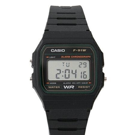 CASIO卡西歐 輕薄設計方型綠框多功能電子錶 休閒運動款 中性款式 柒彩年代【NE1862】原廠公司貨 - 限時優惠好康折扣