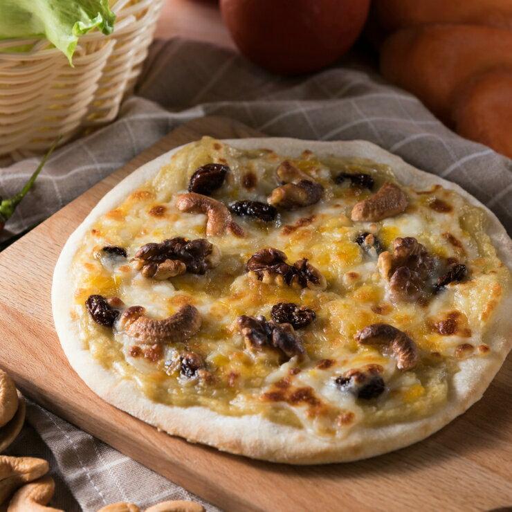 6吋堅果榴槤pizza(冷凍披薩)★1月限定全店699免運
