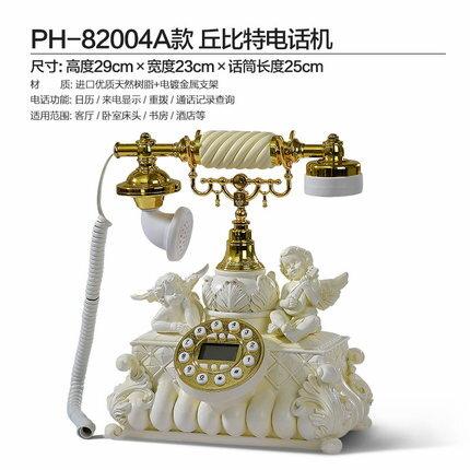 <br/><br/>  古制工藝-歐式電話機天使家用固定電話十天預購+現貨<br/><br/>
