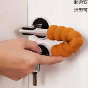 美麗大街【BF408E1】加厚螺旋EVA兒童防撞門把手保護套防滑門把手套