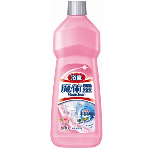 花王 魔術靈 浴室 清潔劑(經濟瓶)-玫瑰香 500ml 0