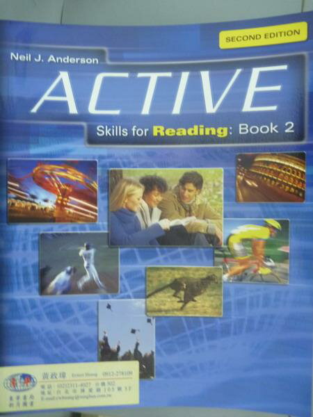 【书宝二手书T6/语言学习_QNZ】Active Skills for Reading: Book 2_Neil J.A