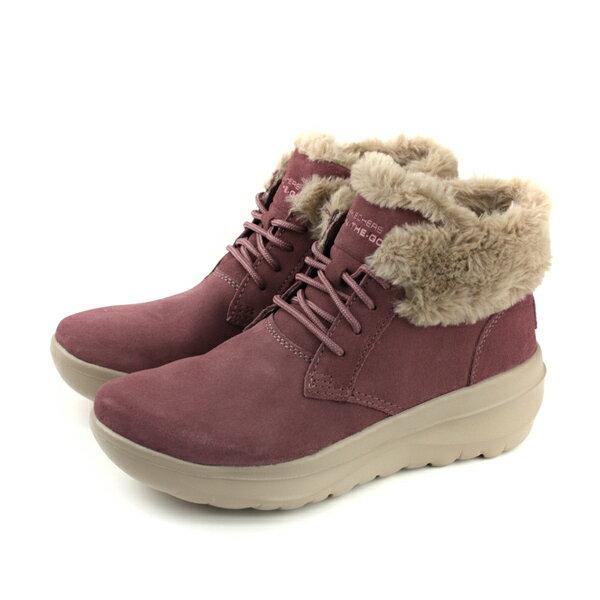 SKECHERS ON~THE~GO SKYHIGH ULTRA 雪靴 短靴 麂皮 女鞋