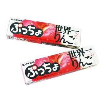 [敵富朗超市]UHA味覺糖噗啾蘋果條糖(50g)
